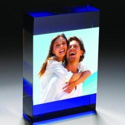 - Kişiye Özel Kristal Kristal Mavi Fotoğraflık